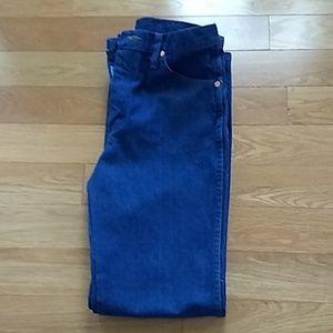 Wrangler 936 Rinsed Slim Fit Jeans